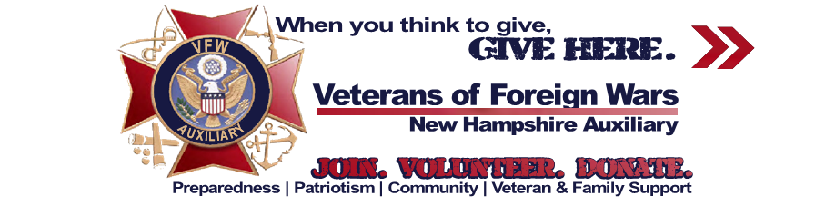 think to give here to the vfw nh auxiliary
